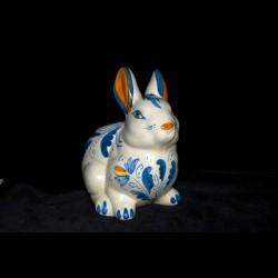 Coniglio decoro 600 blu
