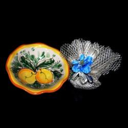 Ciotola in ceramica Caltagirone.