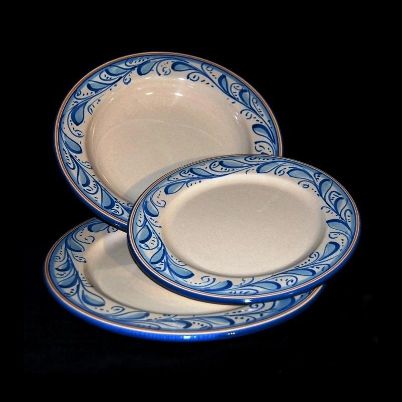 Piatti In Ceramica Prezzi.Servizio Piatti In Ceramica Di Caltagtirone