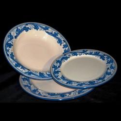 Servizio di piatti in ceramica di caltagirone prezzo per singolo p - Piatti da cucina moderni ...