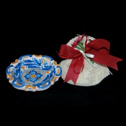 Ciotola Barocca in ceramica di Caltagirone.