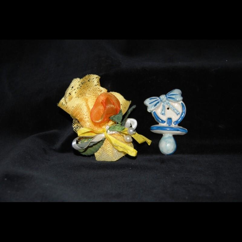 Magnete Ciuccio in Ceramica