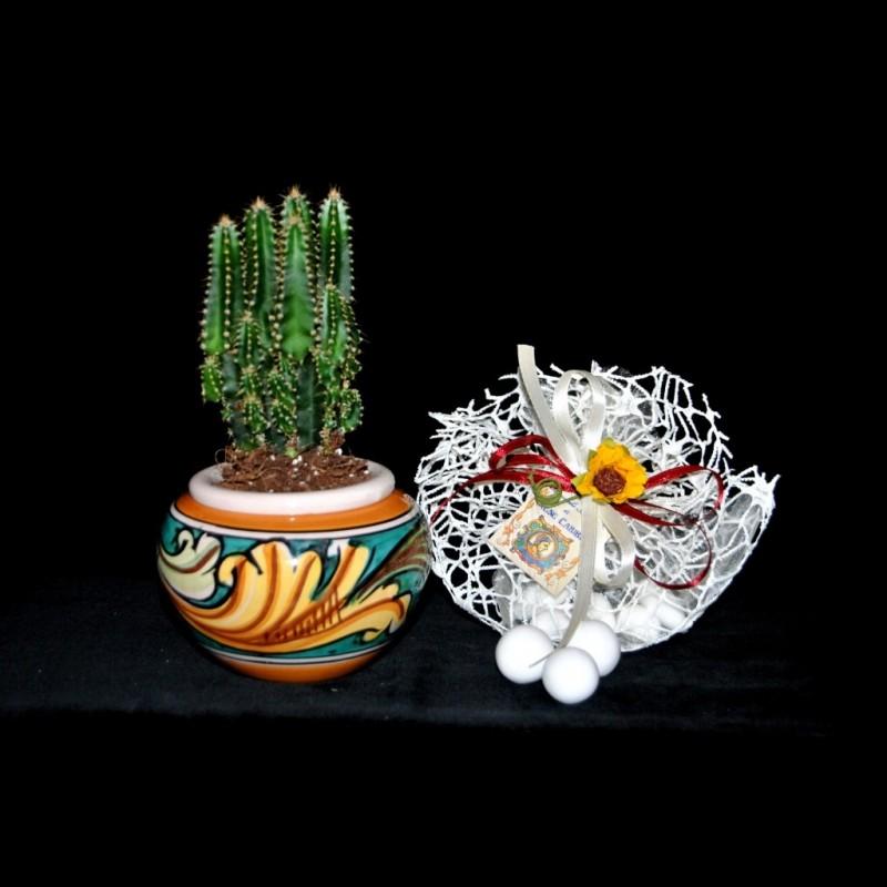 Bomboniere Matrimonio Ceramica Caltagirone.Cachepot In Ceramica Di Caltagirone Per Ordini Superiori Ad 1 Pez