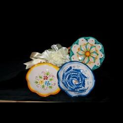 Bomboniera ciotola in ceramica di Caltagirone.
