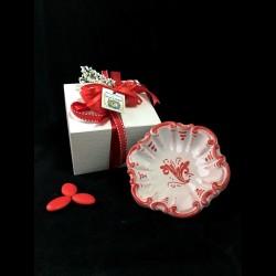 Testa di moro a magnete in ceramica di Caltagirone.