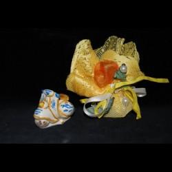 Vespa in ceramica di Caltagirone.