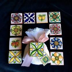 Mattonella in ceramica di...