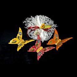 Farfalla in ceramica di Caltagirone.