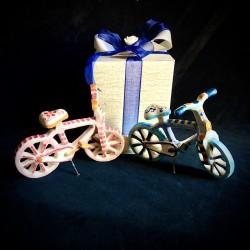 Bicicletta in ceramica di...