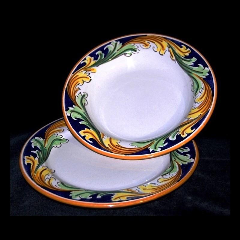 Piatti In Ceramica Prezzi.Servizio Piatti In Ceramica Di Caltagirone
