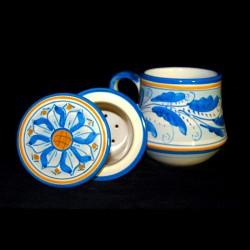 Tisaniera in ceramica di...