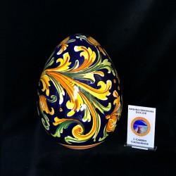 Uovo in ceramica h.15decoro...