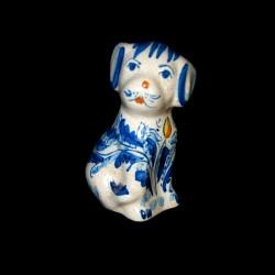 Cane decoro 600 blu