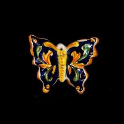 Farfalla 1 misura decoro ornato blu