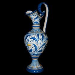 Anfora tradizionale decoro 600 blu antico