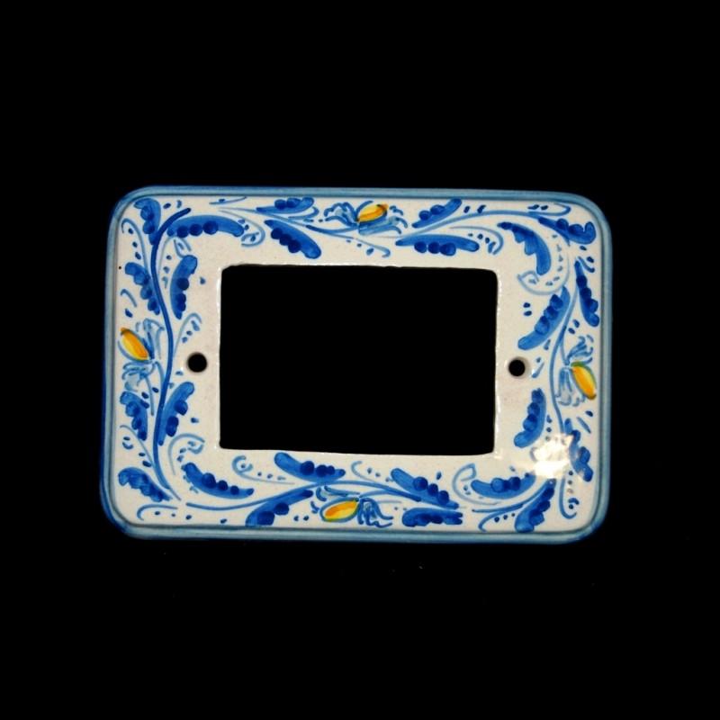 Placca per la luce decoro 600 blu