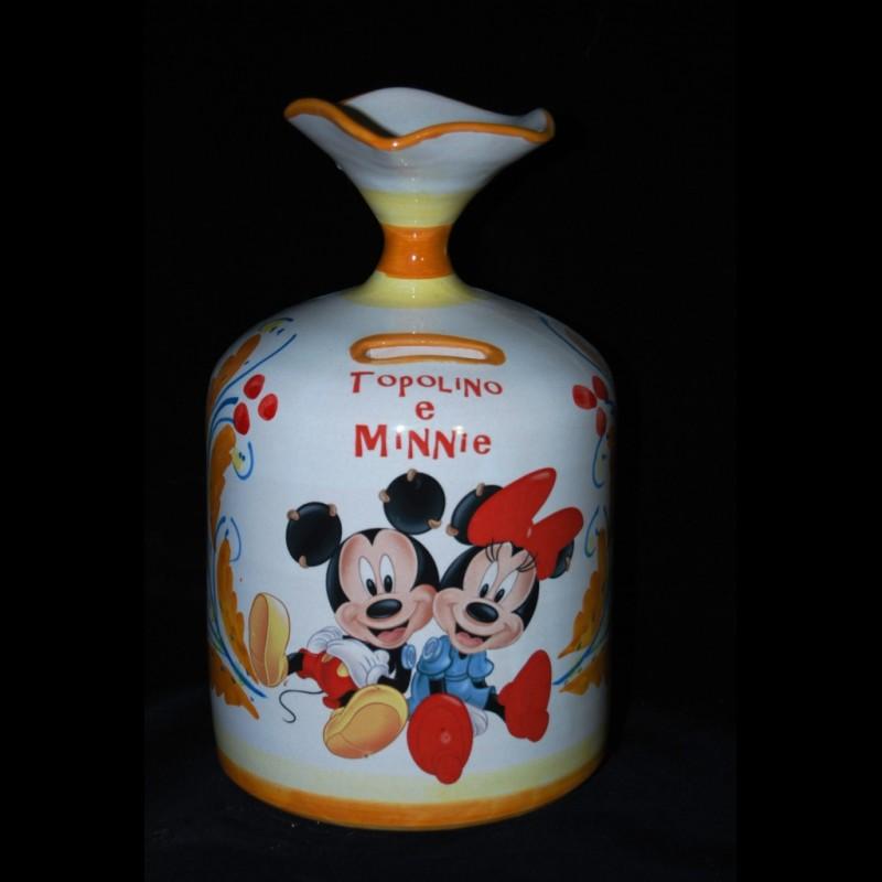 Oggetti Ceramica Di Caltagirone.Salvadanaio In Ceramica Di Caltagirone